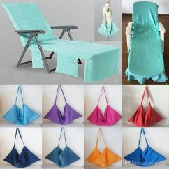 Beach Chair Cover How To Build A Bailey Portable Towel Microfiber Pool Lounge Blankets With Strap Towels Double Layer Blanket Hh7 412 Wing Covers