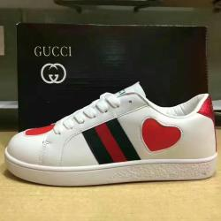 da263dbdd4e Gucci Designer Sneakers 2018 Men Womens Flat Casual Shoes Fashion