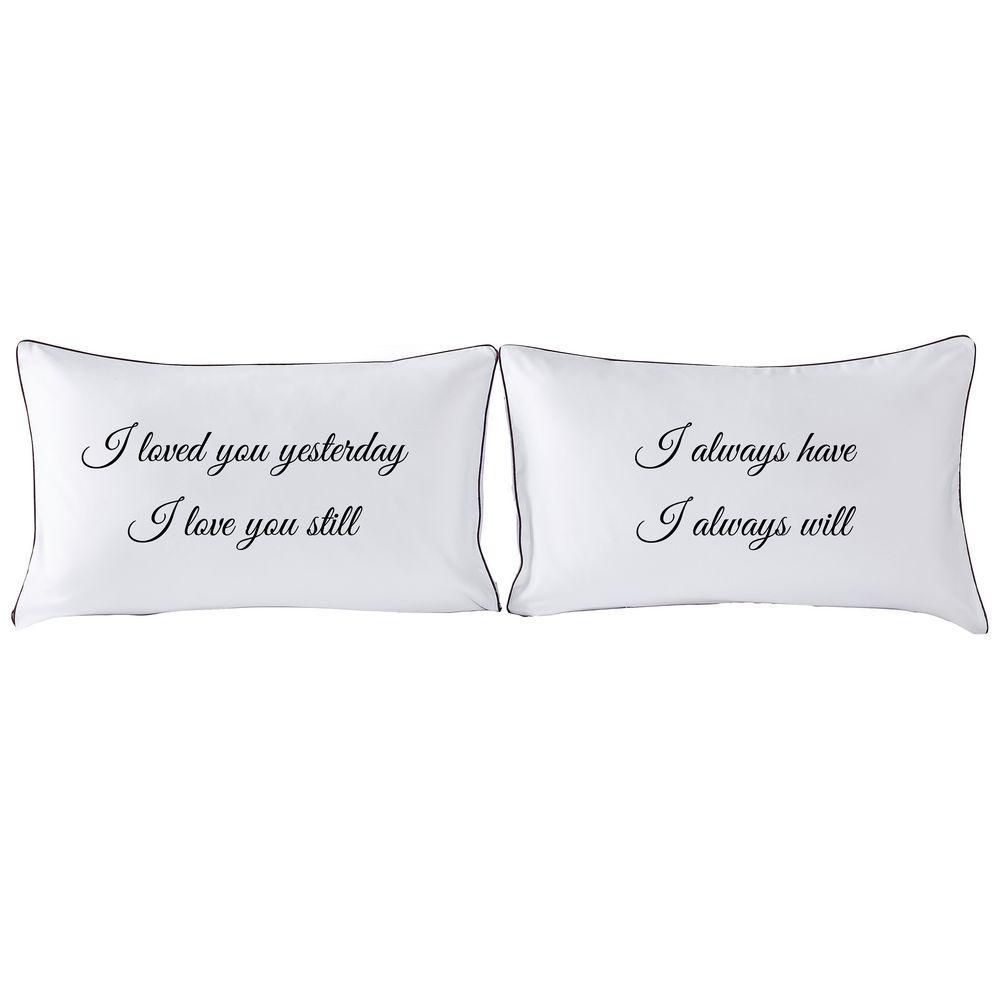acheter couples taies d oreiller son coeur reine sa taie d oreiller coeur cadeau de mariage unique pour couple cadeau de douche nuptiale 74 x 50 cm de 18 1