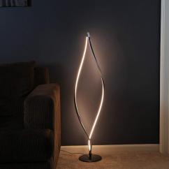 Living Room Standing Light Dining And Paint Colors Modern Led Floor Lamp Fixture With Easy Foot Controlled Dimmer Switch For Bedroom De Reading Bedside Canada 2019 From Alluring