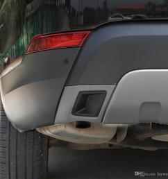 2019 rear bumper exhaust pipe tail pipes decorative sticker cover trim for land rover discovery 5 lr5 exterior accessories from laywaye 74 16 dhgate com [ 1000 x 1000 Pixel ]