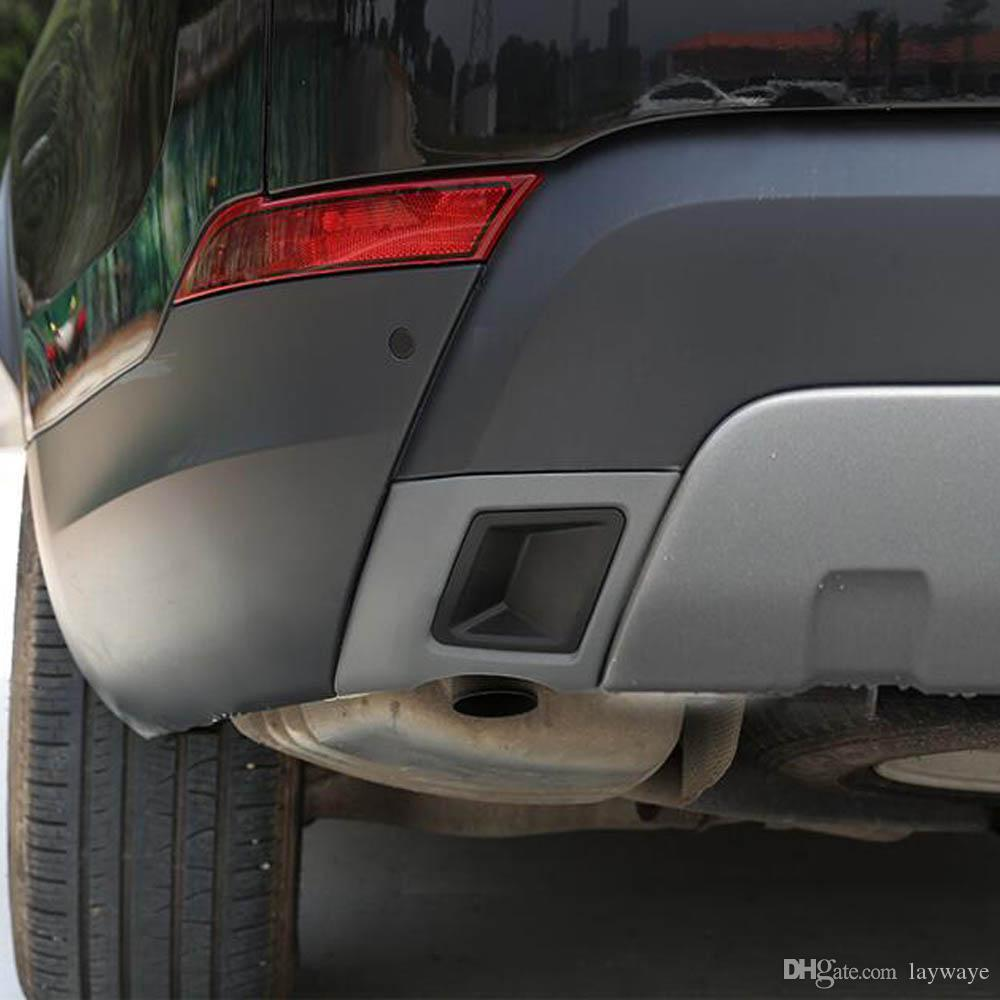 medium resolution of 2019 rear bumper exhaust pipe tail pipes decorative sticker cover trim for land rover discovery 5 lr5 exterior accessories from laywaye 74 16 dhgate com