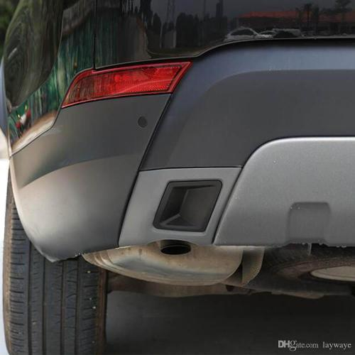 small resolution of 2019 rear bumper exhaust pipe tail pipes decorative sticker cover trim for land rover discovery 5 lr5 exterior accessories from laywaye 74 16 dhgate com