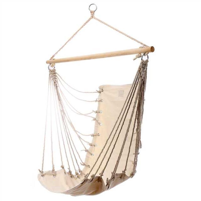 hanging hammock chair wheelchair transport 2019 shellhard garden single adult swing seat for outdoor indoor camping relax furniture 32x17 inch from herbertw 75 53 dhgate com
