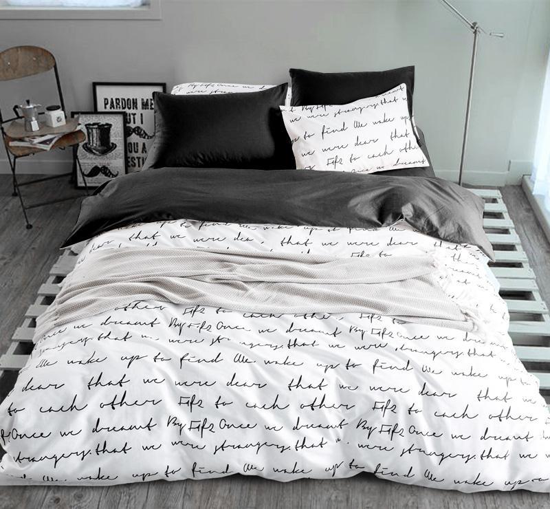 acheter ensembles housse de couette russie usa europe taille literie blanche et noire ensembles de housse king quilt lit maison textiles leer de 47 36 du