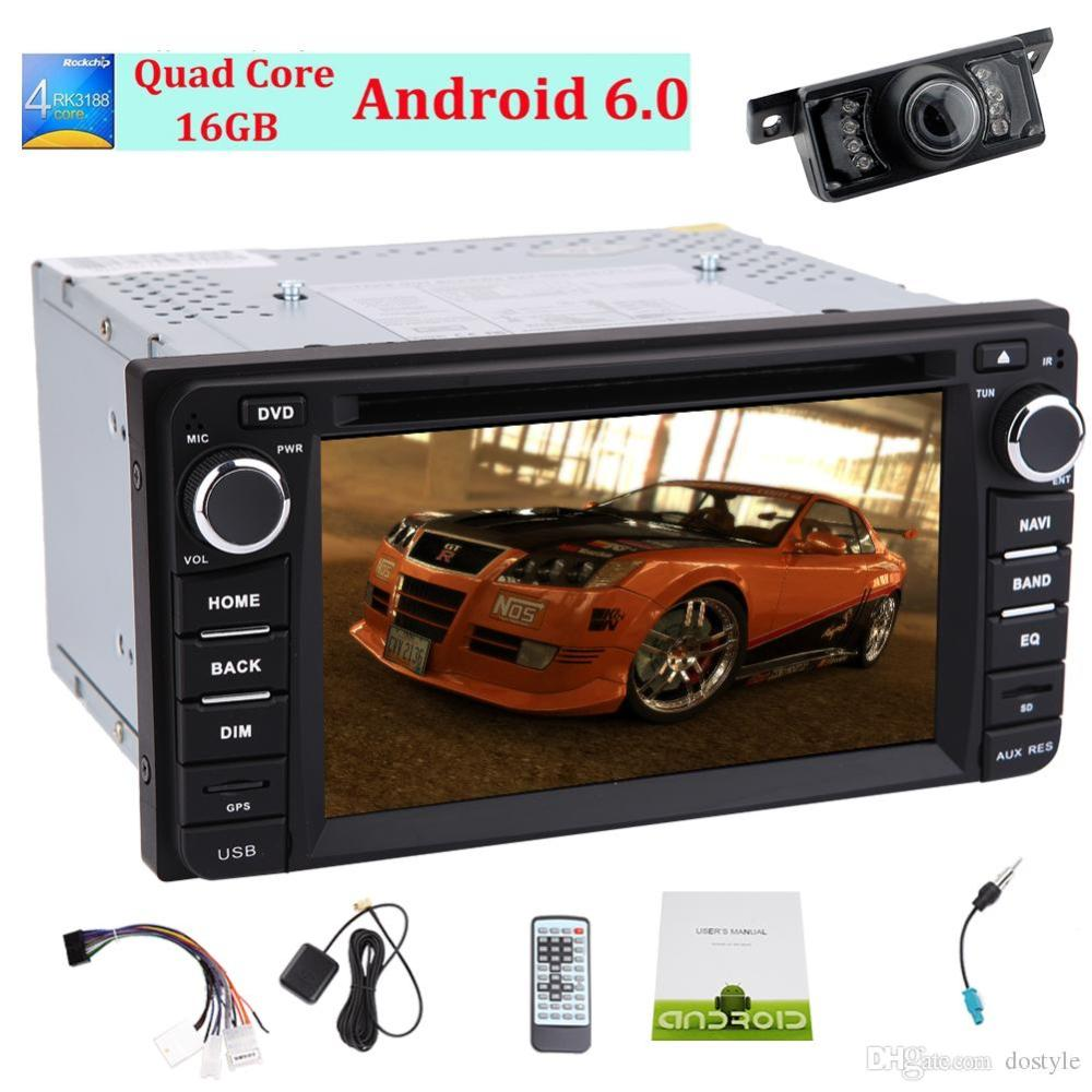 medium resolution of car stereo android6 0 mashmallow in dash headunit for corolla car gps navigation 3d map monitor car dvd player 1080p video play bluetooth in car dvd player