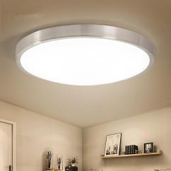 Ceiling Light Fixtures For Living Room Decorating Ideas Dark Hardwood Floors 2019 Modern Led Lights Round Kitchen Corridor Indoor Lighting Flush Mount Lamp From Alice Wu10