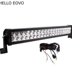 hello eovo 22 inch 120w led light bar wiring kit for indicators work driving offroad boat car truck 4x4 suv atv fog combo [ 900 x 900 Pixel ]