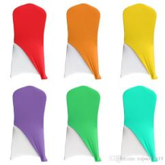 Used Spandex Chair Covers Spindle Arm Hot Salle Price Lycra Cap Hood For Banquet Wedding Cover Decoration Free Shipping Sn889