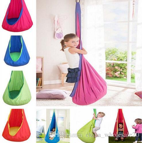 hanging kids chair vinyl lawn webbing replacement 2019 hot sale children hammock swing indoor outdoor sest child seat from china wholesale20 42 64 dhgate com