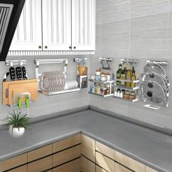 Kitchen Organizer Recycled Countertops 2019 Diy Rack Stainless Steel Shelf Dish Racks Pan Cover Lid Storage Tools From Lb875431527 271 36 Dhgate Com
