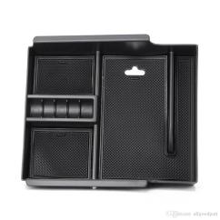 Toyota All New Alphard 2015 Harga Grand Avanza Veloz Abs Car Interior Part Armrest Storage Box Holder Fit 2016 2017 Black Trunk Organizers For Cars Bins From Allgoodpart