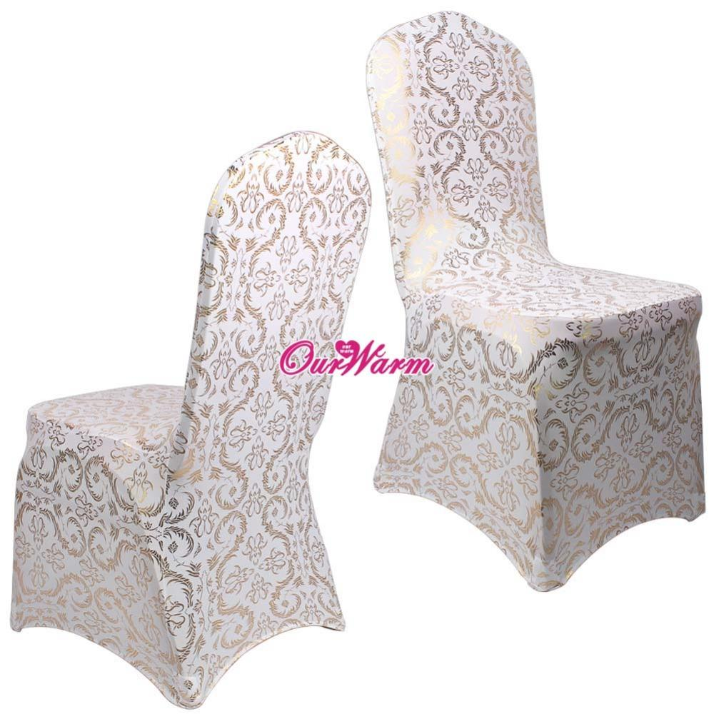 cotton wedding chair covers to buy farm table with chairs spandex for weddings dining cover bronzing gold cheap white best fashion