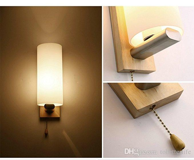 living room wall lamps design tables wooden glass led lights with pull cord switch up and down for cheap vintage industrial light fixture best