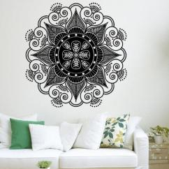 Large Wall Stickers For Living Room India Small Contemporary Ideas Mandala Flower Indian Sticker Bedroom Home Decoration House Decals From Onlybrand 3 43 Dhgate Com