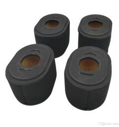 4 air filter for honda gx390 gx340 gxv340  [ 1100 x 1100 Pixel ]