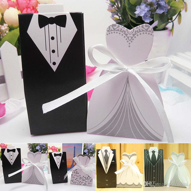gift wrap wedding favour