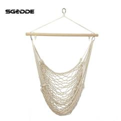 Rope Chair Swing Folding Lot 2019 Sgodde Outdoor Hammock Hanging Chairs Cotton Net Cradles Kids Adults Indoor Seat From Roberte 55 02 Dhgate Com