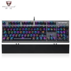 Mechanical Keyboard Wiring Diagram Iron Carbon Equilibrium Motospeed Ck108 Wired 104 Keys Russian English Rgb Backlight Blue Black Switch With Xl Large Mouse Pad Kit