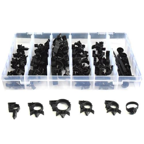 small resolution of car wire harness loom routing auto fastener clips nylon clip strap bundling band assortment kit for honda mazda car used part cars and car parts from
