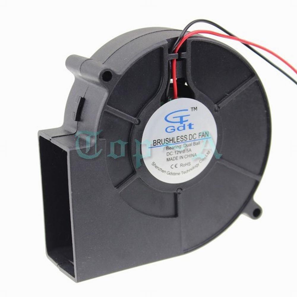 hight resolution of 2019 gdstime 9733 ball bearing dc blower fan 12v 2 pin 2 wire 97mm 97x33mm 9cm ventilation axial motor cooling cooler from sophib 68 63 dhgate com
