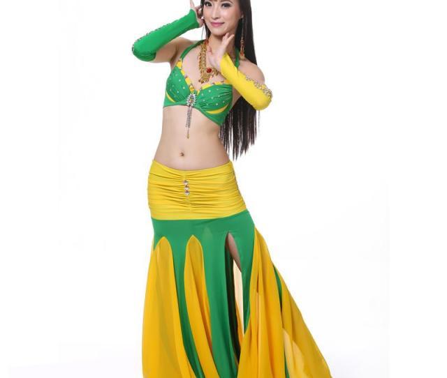 Belly Dance Costume Braskirt Sexy Dancing Women Dance Clothes Set Bellydance Wear From Viladancing   Dhgate Com