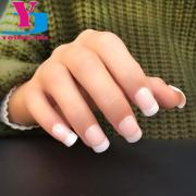 classical french nail art tips