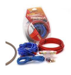 car power amplifier installation kit 8 gauge automobiles speaker audio wiring kits [ 1001 x 1001 Pixel ]