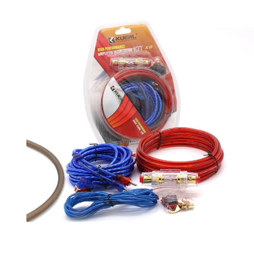medium resolution of car power amplifier installation kit 8 gauge automobiles speaker audio wiring kits