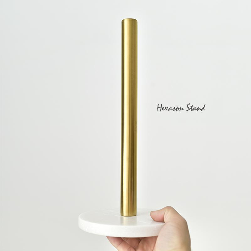 kitchen paper towel holder copper pendant lights nordic danish marble brass gold plated creative vertical roll canada 2019 from gor2don cad 60 74 dhgate