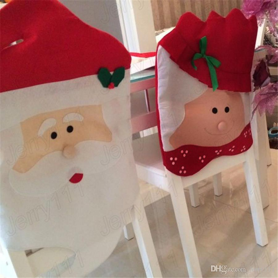 chair covers diy the company santa claus dining christmas grandma cover mr mrs dinner festival seat decor supplies le105 top toys toy