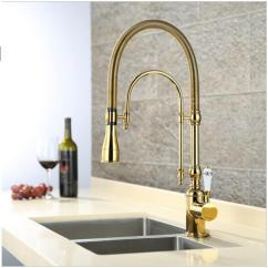 Gold Kitchen Faucet Cabinets Made In Usa 2019 Luxury 3 Type Rose Single Handle Cold Hot Water Tap Brass Deck Mounted With Ceramic From Baolv 301 56 Dhgate Com