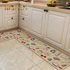 Living Room Floor Mats Perfect Paint Color For Small Long Kitchen Carpet Mat Hallway Area Rugs Cotton Pvc Dotted Anti Slip Entrance Door Doormat Home Outdoor Wicker Patio Furniture