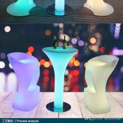 Led Table And Chairs Walmart For Kids Bar Furniture Changing Lighting Party Event D60 H105cm Chair Online With 801 05 Piece On Bestller886 S Store