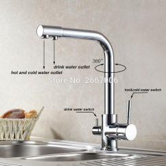 Kitchen Water Faucet Designer 2019 Drink Purifier Filter Taps Brass Chrome Color Crane Dual Spout Zr647 From Jasm 93 01 Dhgate Com