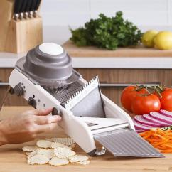 Kitchen Mandoline Free Standing Islands With Seating 4 Gear Adjustable Slicer Accessories Multi Functional Vegetable Grater Shredder Cutter Sets