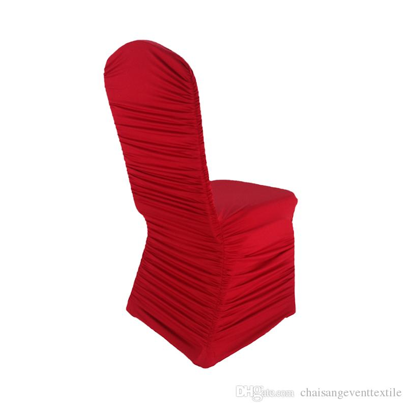 chair cover elegance costco mat ruffled lycra wedding ruched pleated covers for party events banquet home decoration chaircovers seat