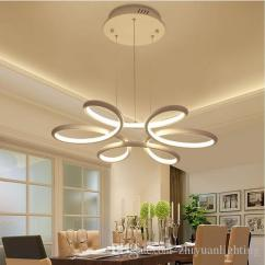 Hanging Light Fixtures Living Room Country Rustic Chandelier Lighting Lustre Led Lamp Modern Fixture Aluminium Ceiling Plate Remote Control Chandeliers Pendant Shade