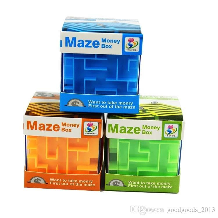 money box puzzle plastic