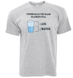 the glass is always full science joke novelty slogan diagram logo mens t shirt shirt online cartoon t shirts from sugarlisaxx 11 01 dhgate com [ 1600 x 1600 Pixel ]