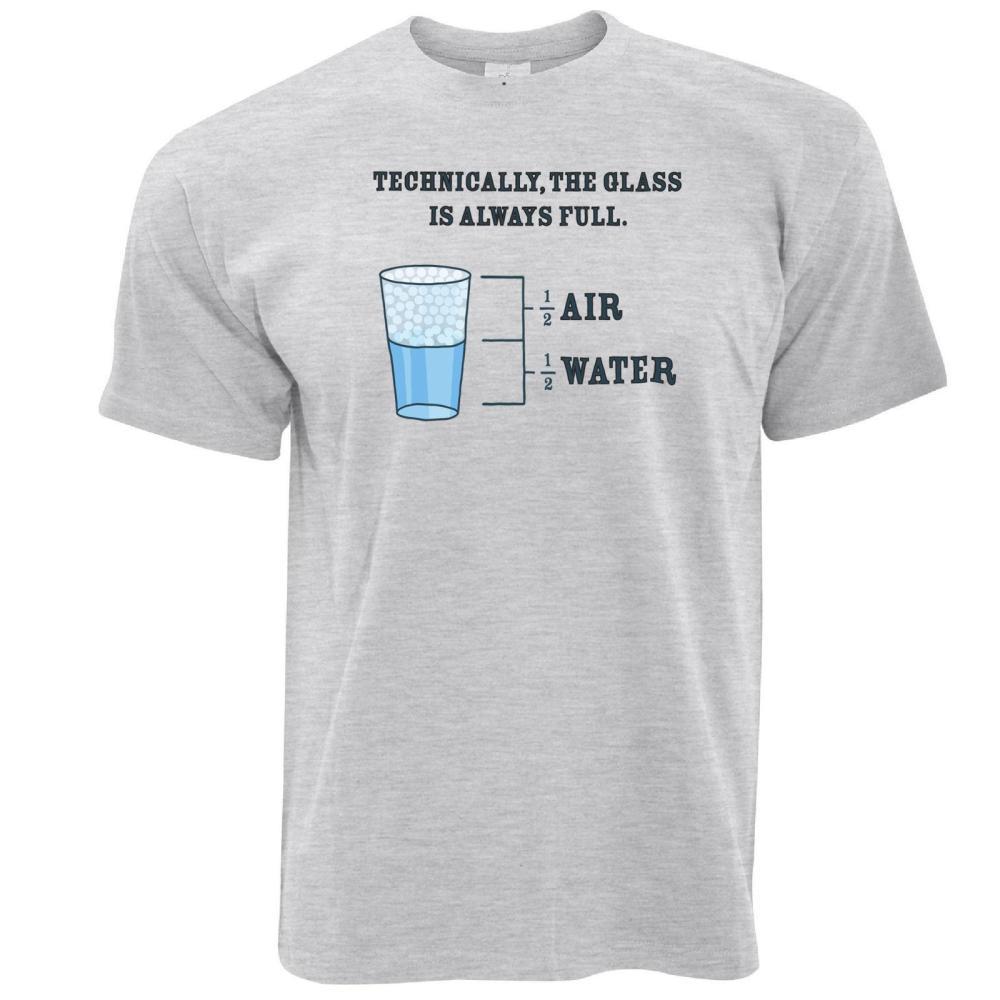 medium resolution of the glass is always full science joke novelty slogan diagram logo mens t shirt shirt online cartoon t shirts from sugarlisaxx 11 01 dhgate com