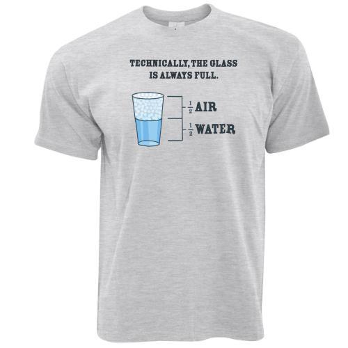 small resolution of the glass is always full science joke novelty slogan diagram logo mens t shirt shirt online cartoon t shirts from sugarlisaxx 11 01 dhgate com