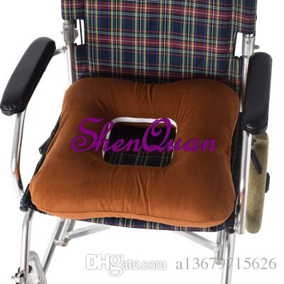 chair pad foam office hip pain seat cushion memory coccyx pillow for car computer and wheelchair orthopedic breathable care supplies clinic medical