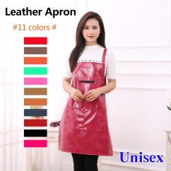 Kitchen Wear Tall Chairs Leather Waterproof Apron Anti Oil Overalls Pu Material Home Adult Men And Women Womens Blueapron From Meetamo 35 44 Dhgate
