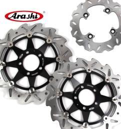 2019 arashi z1000 front rear brake rotors disk disc kit for kawasaki z 1000 2003 2006 2004 2005 z750s z750 zx6r ninja from arashidh 200 99 dhgate com [ 1000 x 1000 Pixel ]
