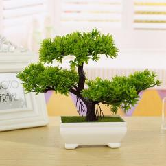 Artificial Trees For Living Room Samples 2019 New Fashion Plastic Tree Plants Ceramics Bonsai Pot Culture Office Home Furnishings Decorative From China Smoke