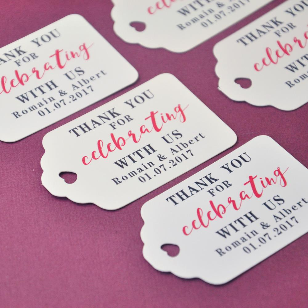 personalized gift tags thank