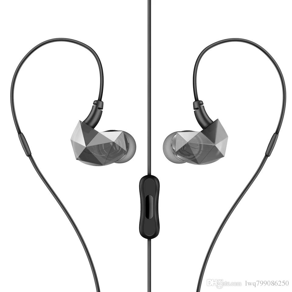 hight resolution of mobile phone connection headphones enter ear type male and female general purpose creative noise reduction headset can receive phone two col cell phone