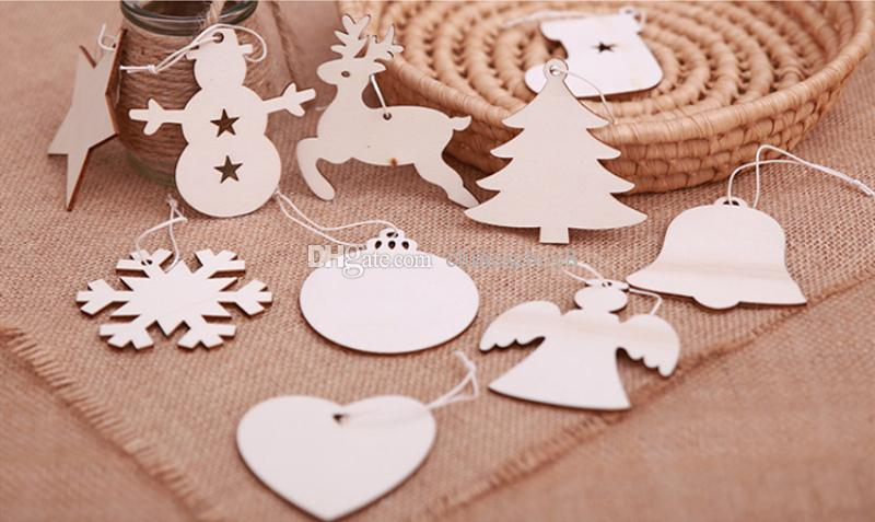 christmas wooden hanging ornaments