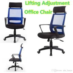 Durable Office Chairs For Autism Brief Lifting Adjustment Chair With Ajustment Headrest Nyloy Armrest Mesh Backrest High Resilience Cushion